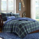Bed Bath & Beyond Mizone Brody Coverlet Set in Blue