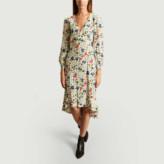 BA&SH Ecru Viscose Paloma Dress - 0 | viscose | ecru - Ecru