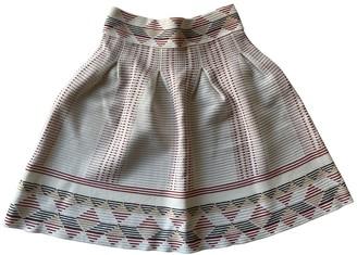 Maje Spring Summer 2018 White Skirt for Women