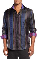 Robert Graham Men's Brute Classic Fit Silk Sport Shirt