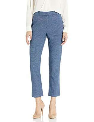 Rebecca Taylor Women's Plaid Suiting Pant with Pleat Front