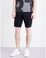 Armani Jeans Stretch-cotton Cargo Shorts