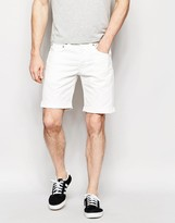 Edwin Denim Shorts Ed-55 Relaxed Tapered Natural Rinsed