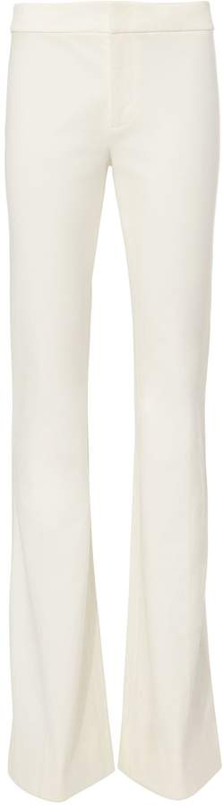 Derek Lam 10 Crosby White Flare Trousers