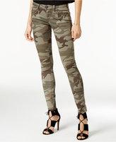 True Religion Casy Camo-Print Skinny Jeans