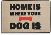 "Bed Bath & Beyond ""Home Is Where Your Dog Is"" Door Mat"