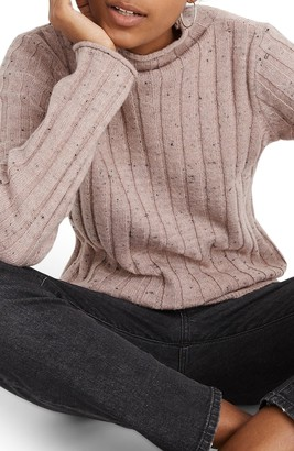 Madewell Donegal Evercrest Coziest Yarn Turtleneck Sweater
