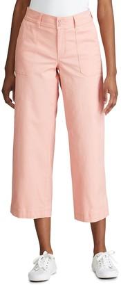 Chaps Women's Wide Leg Crop Pants