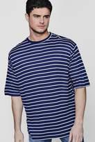 Boohoo Oversized Stripe T-shirt