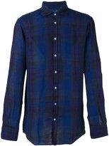 Massimo Alba plaid shirt - men - Linen/Flax - M