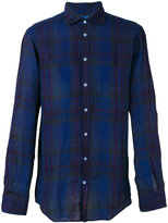 Massimo Alba plaid shirt - men - Linen/Flax - XL