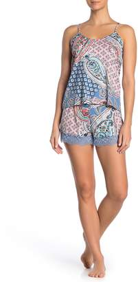Flora Nikrooz In Bloom By Jonquil Cami Pajama 2-Piece Set