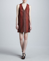 Michael Kors Painted Python Dress