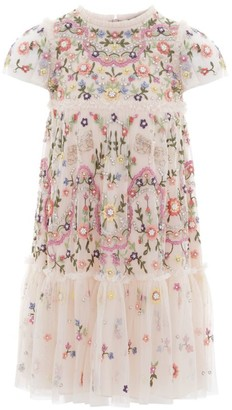 Needle & Thread Dragonfly Garden Embellished Dress (4-10 Years)