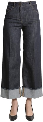 Boutique Moschino Flared Straight-Cut Pants