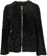 Isabel Marant Black Aja Fur Jacket