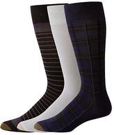 Gold Toe Plaid Crew Socks 3-Pack