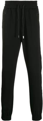 Philipp Plein stripe detail track pants