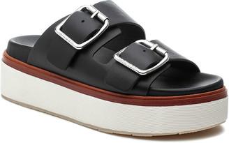 J/Slides Bowie Nubuck Dual-Buckle Slide Sandals