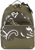 Valentino Garavani Valentino Camupanther backpack - men - Leather/Polyester - One Size