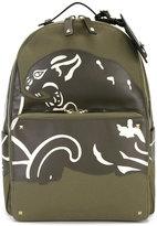 Valentino Garavani Valentino print panel backpack