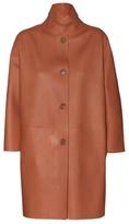 Loro Piana Spencer Leather Coat