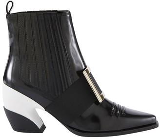 Roger Vivier Viv Western ankle boots