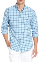 Vineyard Vines Men's Tucker Oyster Point Performance Sport Shirt