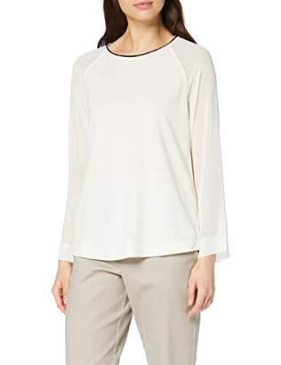 S'Oliver BLACK LABEL Women's 11.910.31.2689 Longsleeve T-Shirt, (Forever Black 9999), 8 (Size:)