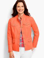 Talbots Cotton Twill Jacket