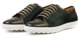 Donhall & Bell Redchurch Calf Hair Luxury Sneaker Green