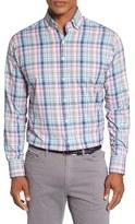 Peter Millar Men's 'Beaker' Regular Fit Performance Sport Shirt