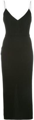 Alex Perry Drake stretch-crepe midi dress