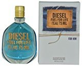 Diesel FUEL FOR LIFE L'EAU by EDT SPRAY 2.5 OZ (LIMITED EDITION) for MEN ---(Package Of 2)