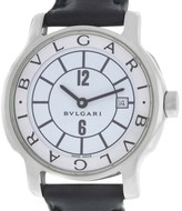 Bulgari Solotempo ST29S Stainless Steel Quartz 32mm Womens Watch