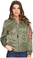 Alpha Industries MA-1 Flight Jacket Women's Coat