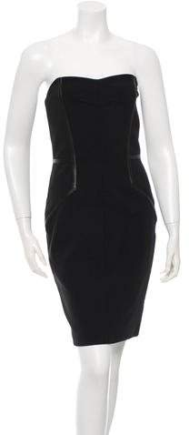 Yigal Azrouel Strapless Sheath Dress w/ Tags