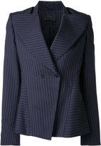Dion Lee Lattitude Pinstripe blazer - women - Viscose - 8