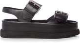Stella McCartney Submerge faux-leather flatform sandals