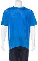 McQ by Alexander McQueen Silk Panel T-Shirt