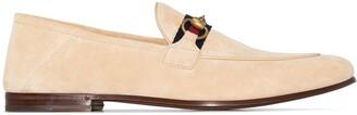 Gucci Brixton Horsebit motif loafers