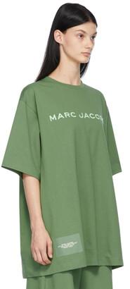 Marc Jacobs Green 'The Big T-Shirt' T-Shirt