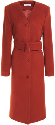 Rodebjer Petit Belted Wool-blend Felt Coat