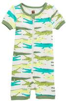 Tea Collection Alligator Fitted One-Piece Pajamas