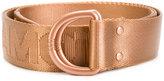 Y-3 logo buckle belt