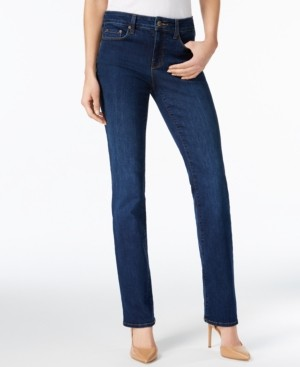 NYDJ Marilyn Tummy-Control Straight-Leg Jeans, In Regular & Short Lengths & Petite Sizes