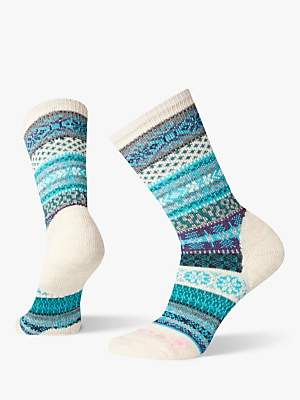 Smartwool Premium CHUP Speir Women's Crew Hiking Socks, Moonbeam