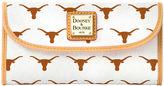 Dooney & Bourke NCAA Texas Continental Clutch