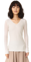 Maiyet Long Sleeve V Neck Sweater