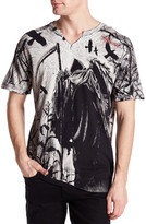 Affliction Corn Reaper Graphic Tee